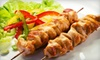 Soho Restaurant & Cafe - Astoria: Middle Eastern Meal for Two or Four with Appetizers, Kebabs, and Drinks at Soho Restaurant & Cafe in Astoria (Up to 66% Off)
