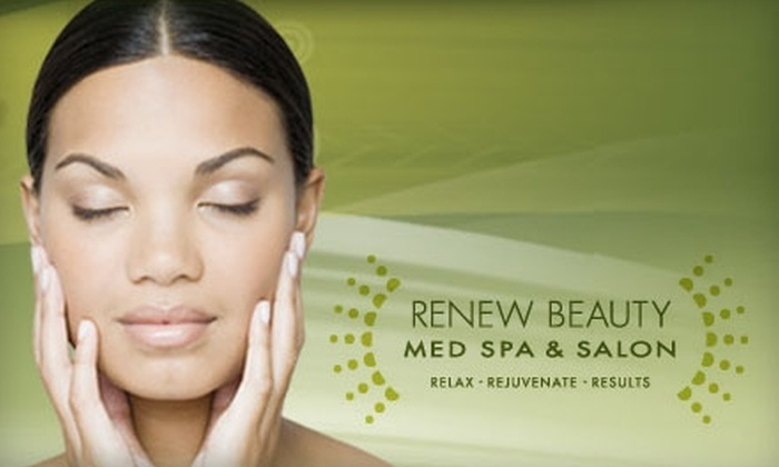 Renew Beauty Med Spa - North Dallas: $139 for Your Choice of a Face, Skin, Hair, or Smile Package at Renew Beauty (Up to $1,500 Value)