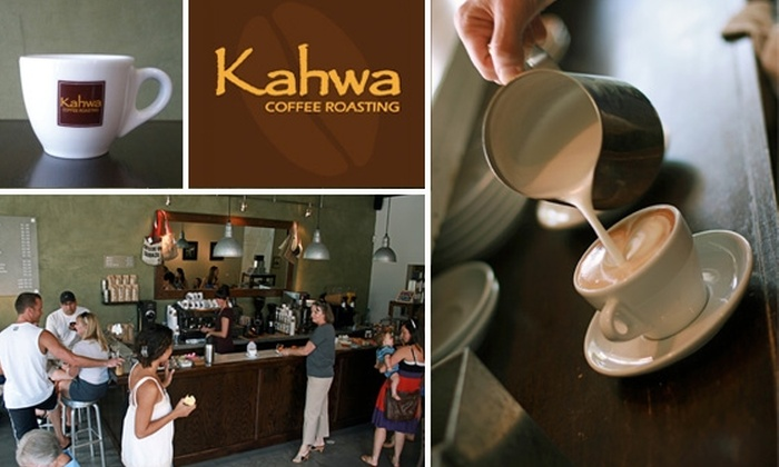 Kahwa Coffee - Multiple Locations: $10 For $20 of Café Drinks at Kahwa Coffee