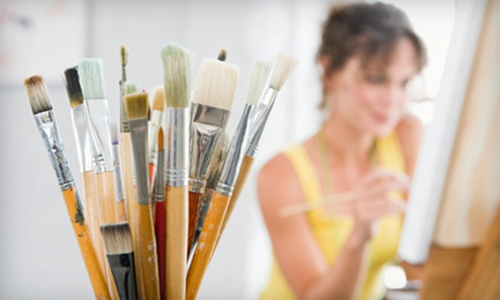 The Big Artsy - Metairie: $90 for Three In-Home Art Lessons from The Big Artsy ($180 Value)