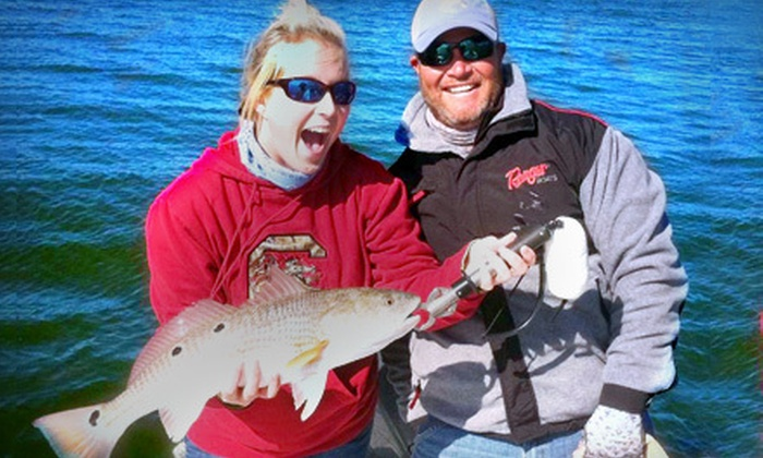 The Reel Deal Charters - Mount Pleasant: $175 for a Four-Hour Inshore Fishing Trip for Up to Three People from The Reel Deal Charters in Mount Pleasant ($350 Value)