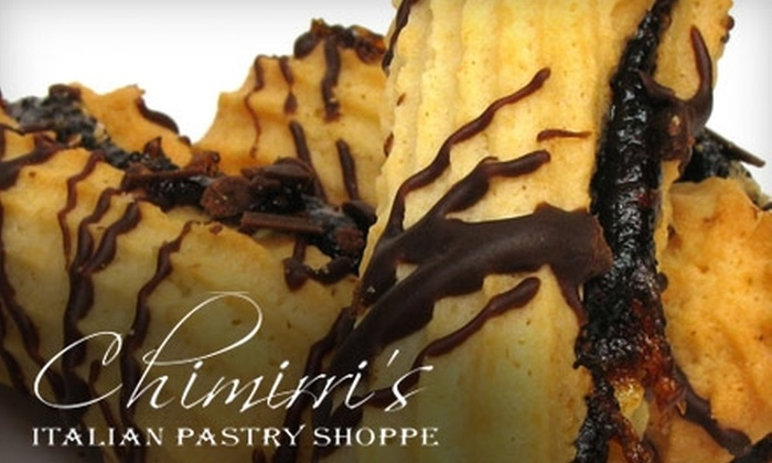 Chimirri's Italian Pastry Shoppe - Wethersfield: $6 for $12 Worth of Pastries, Desserts, and More at Chimirri's Pastry Shop