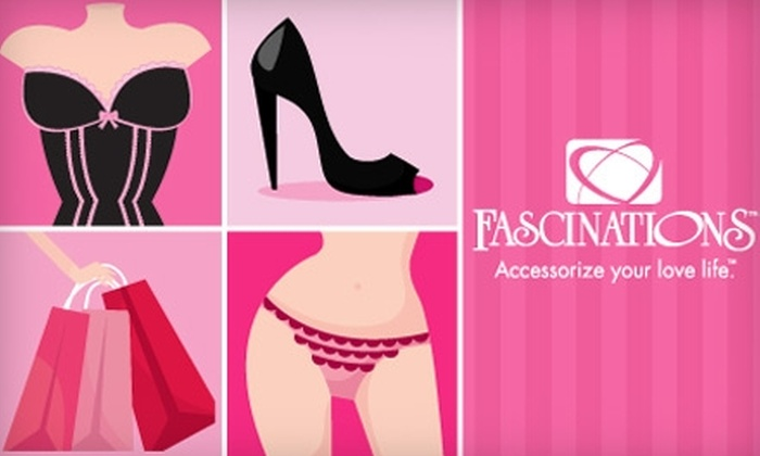 Fascinations - Multiple Locations: $20 for $40 Worth of Lingerie, Plus 10% Off Additional Purchases, at Fascinations