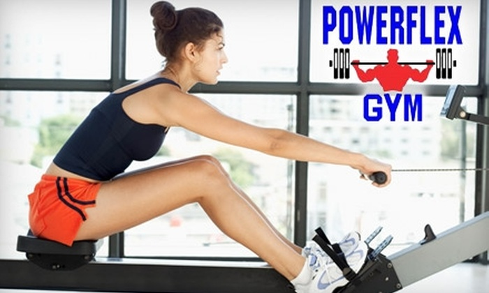 Powerflex Gym - Indian Moon: $29 for a Month of Gym Membership and Tanning and Two Personal Training Sessions at Powerflex Gym in Albuquerque ($125 value)