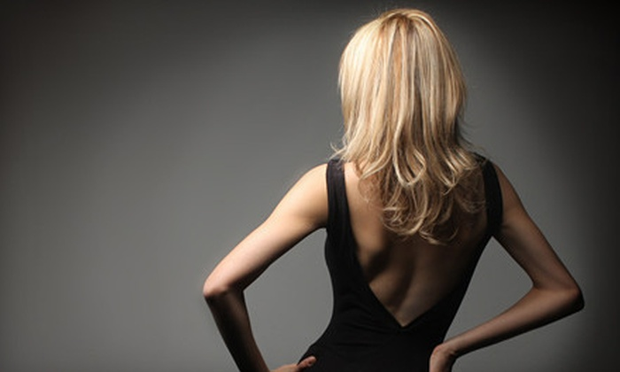 Scioto Hair Artists Group - Riverside Park: Women's Salon Package with or Without Color or Partial or Full Highlights at Scioto Hair Artists Group (Up to 68% Off)