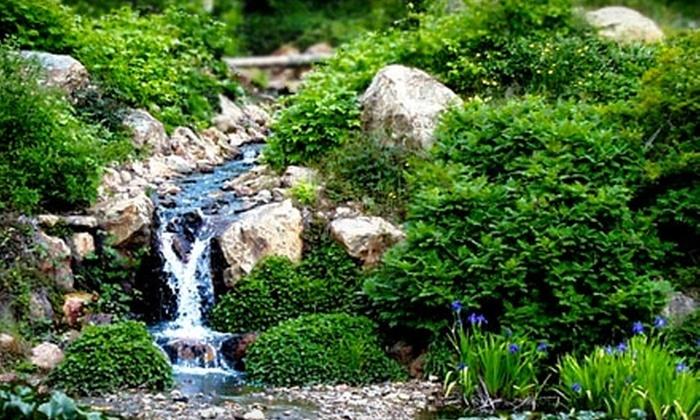 Quarryhill Botanical Garden - Napa / Sonoma: $30 for a One-Year Family Membership to Quarryhill Botanical Garden ($60 Value)