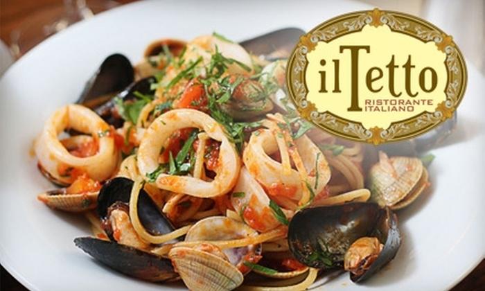 Il Tetto Restaurant - Gowanus: $20 for $50 Worth of Italian Fare at Il Tetto Restaurant in Park Slope