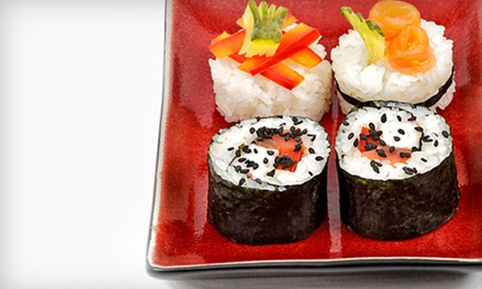 OH Fusion - Lakeview: Sushi Dinner for Two or Four with Appetizers and Rolls at OH Fusion (Up to Half Off)