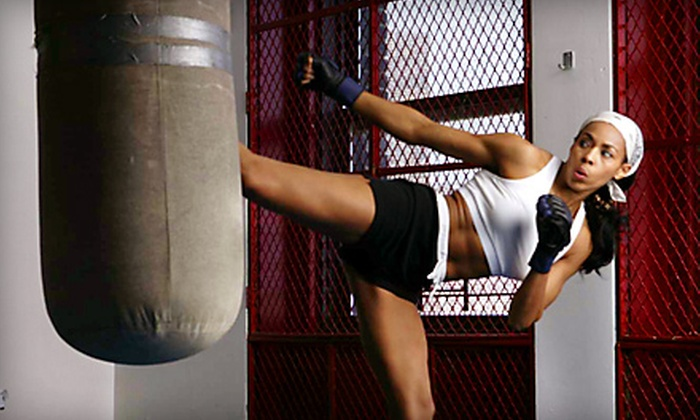 Kick Fever Fitness - Boerum Hill: Four or Eight Kickboxing Classes at Kick Fever Fitness in Brooklyn (Up to 77% Off)