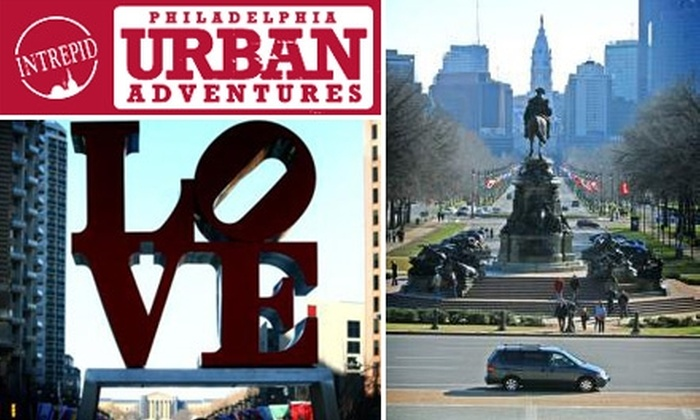 Philadelphia Urban Adventures - Multiple Locations: $29 for a Historic River-to-River Tour from Philadelphia Urban Adventures ($59 Value)