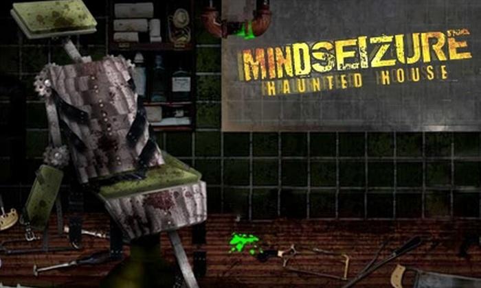 Mind Seizure Haunted House - Powers: $7 Regular Admission or $12 VIP Admission to Mind Seizure Haunted House