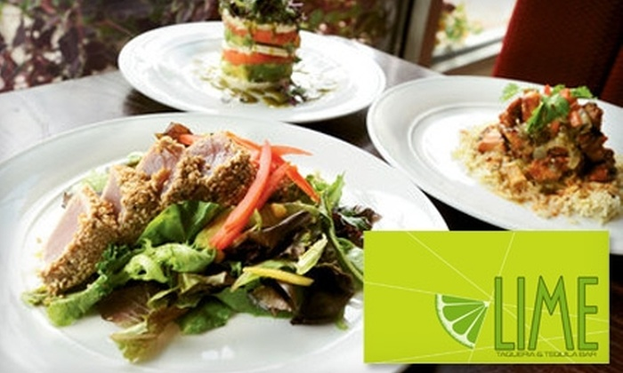 Lime Taqueria & Tequila Bar - Vinings: $20 for $50 Worth of Mexican Fare at Lime Taqueria & Tequila Bar