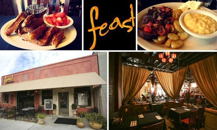 Feast Restuarnt - Decatur: $20 for $40 Worth of Feasting at Feast Restaurant