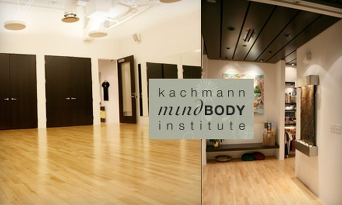 Kachmann Mind Body Institute - Fort Wayne: $20 for Five Yoga Classes or Five Zumba Classes at Kachmann Mind Body Institute ($40 Value)