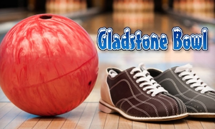 Gladstone Bowl - Gladstone: Bowling and Shoe Rental at Gladstone Bowl. Choose from Two Options.