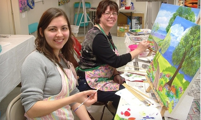Casa de Linda - New Braunfels: $19 for $39 Toward Entry to an Art-2-Gogh Painting Party or Any Class or Camp at Casa de Linda in New Braunfels ($39 Value)