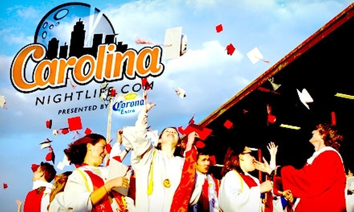 Carolina Nightlife - University City North: $10 Ticket to the College Graduation Bar Crawl from Carolina Nightlife ($20 value)