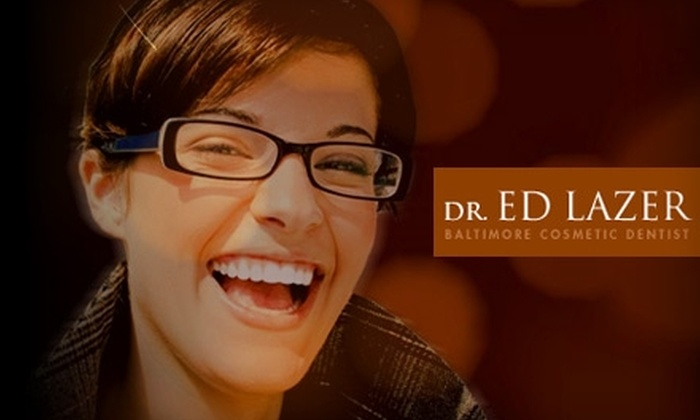 Dr. Edward S. Lazer - Garrison: $125 for General Checkup, Zoom! Whitening Treatment, or Veneers Consultation by Dr. Edward S. Lazer in Owings Mills (Up to $450 Value)