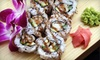 Sushi on the Roll - Akron: $15 for $30 Worth of Fresh Asian Fare at Sushi on the Roll