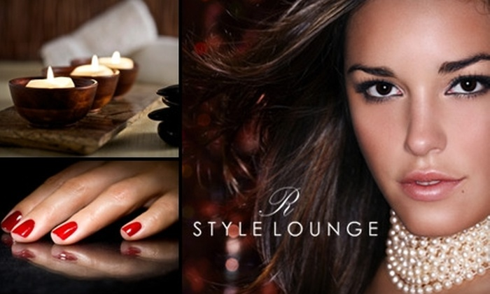 R Style Lounge - Studio City: $45 for $100 Worth of Salon & Spa Services at R Style Lounge