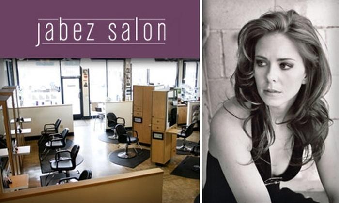 Jabez Salon - Yorba Linda: $45 for One of Three Salon Packages at Jabez Salon