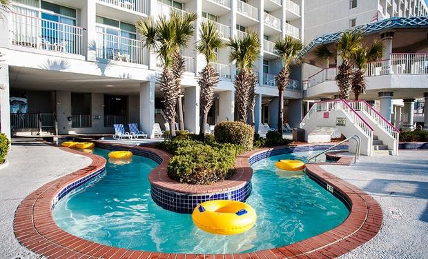 Crown Reef Beach Resort And Waterpark Oceanfront Myrtle Hotel Groupon Getaways