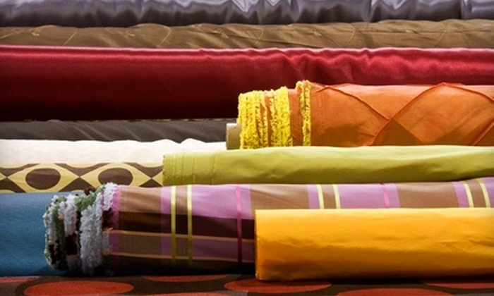 Fabric Warehouse - Warren: $20 for $40 Worth of Fabric and Trim at Fabric Warehouse in Warren