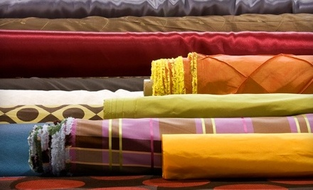 $40 Groupon to Fabric Warehouse - Fabric Warehouse in Warren