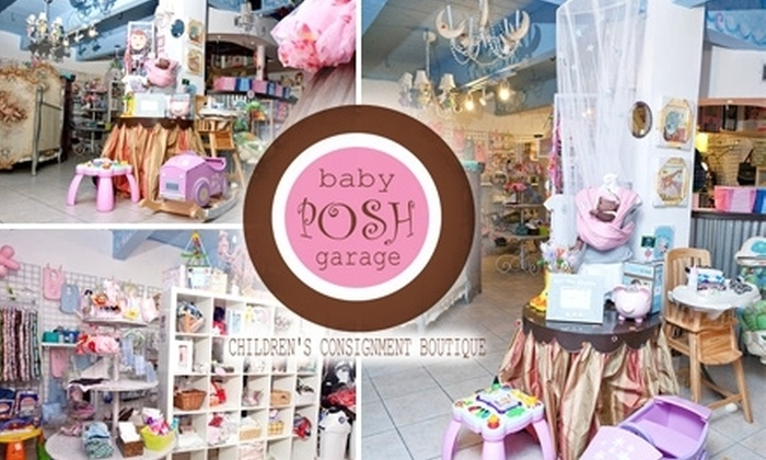 Baby Posh Garage - Ojus: $19 for $45 Worth of Pre-Loved Kids Clothes and Shoes at Baby Posh Garage