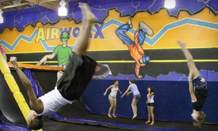 Airworx - Chandler: $10 for Two Jump Passes at Airworx in Chandler (Up to $20 Value)