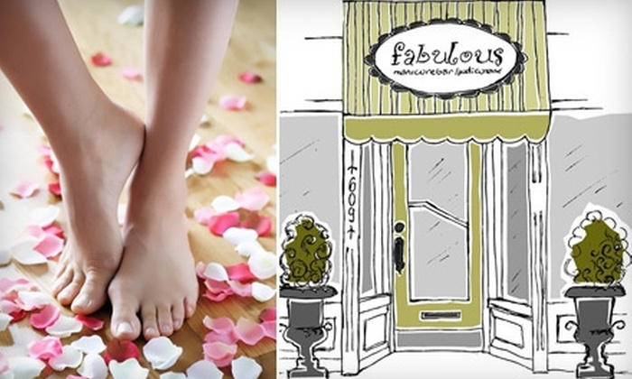 Fabulous Manicure Bar & Pedicure Lounge  - Davisville: $49 for a Rose Petal Mani-Pedi at Fabulous Manicure Bar & Pedicure Lounge