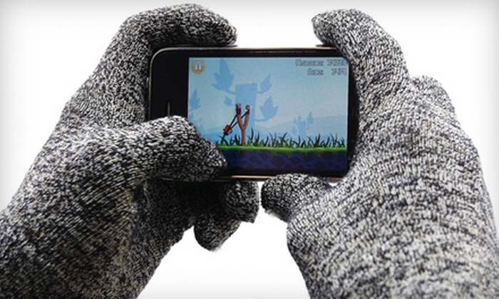 Glider Gloves: $14 for One Pair of Touch-Screen-Compatible Gloves from Glider Gloves ($28.24 Value)