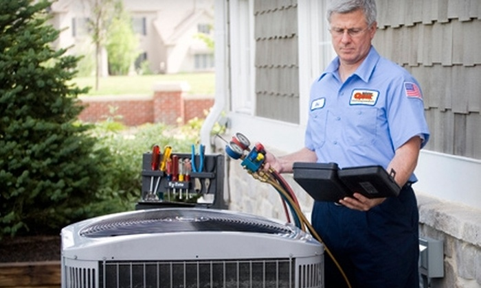 Mister Quik Home Services - Avon: $29 for a Furnace or Air-Conditioner Tune-Up from Mister Quik Home Services ($59 Value)