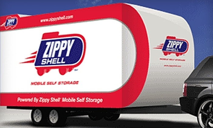 Zippy Shell - Downtown Dallas: $99 for $300 Worth of Mobile Storage and Moving Services from Zippy Shell