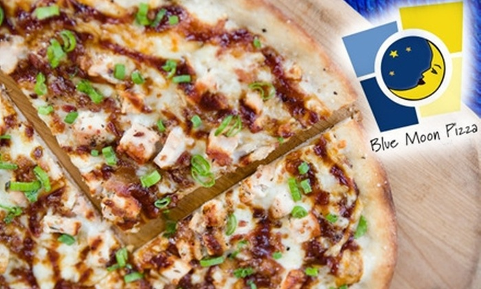 Blue Moon Pizza - Multiple Locations: $10 for $25 Worth of Specialty Pizzas, Martinis, and More at Blue Moon Pizza