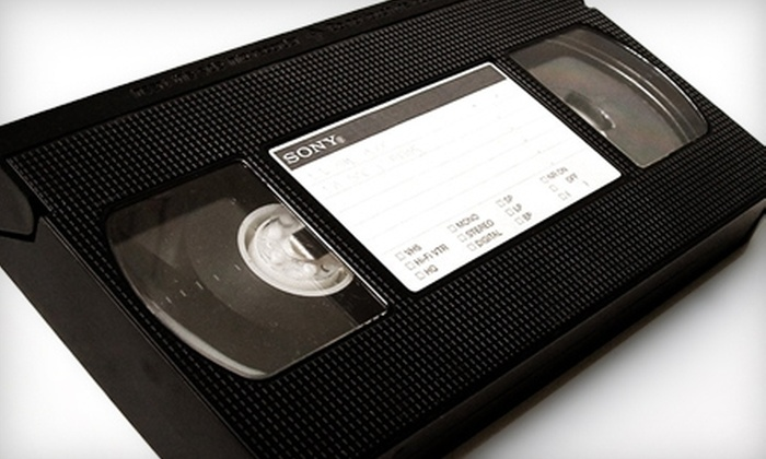 Keepsake Family Tree Video - Riverwoods: $25 for Two Tape-to-DVD Transfers at Keepsake Family Tree Video in Riverwoods ($50 Value)
