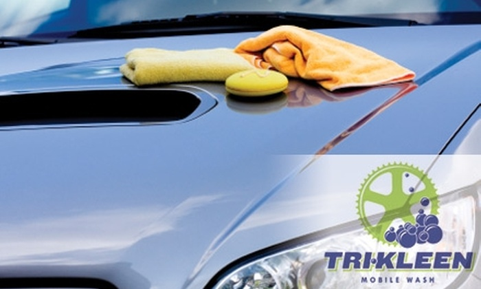 Tri Kleen - Milwaukee: $10 for a Mobile, Eco-Friendly Car Wash from Tri Kleen