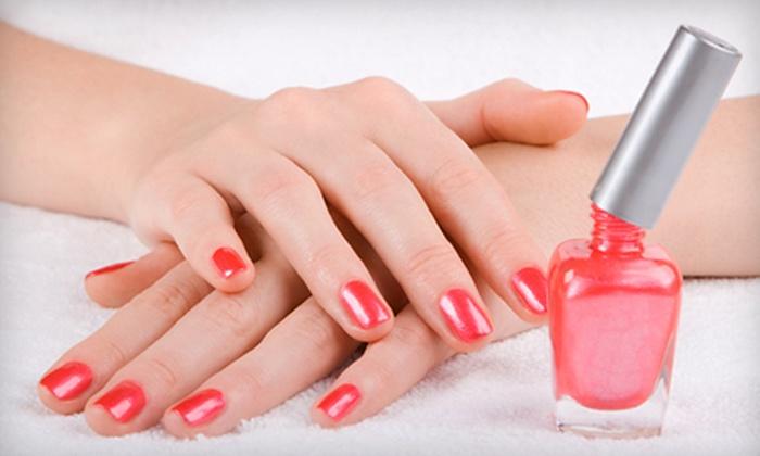 Venus Nails - New York City: Basic Mani-Pedi, Spa Mani-Pedi, or LCN Permanent French Gel Manicure at Venus Nails in Staten Island (Up to 56% Off)