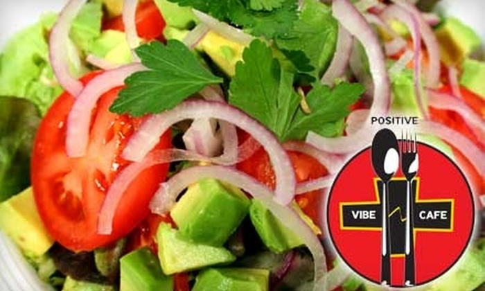 Positive Vibe Café - Stratford Hills: $9 for $20 Worth of Hearty Fare at the Positive Vibe Café
