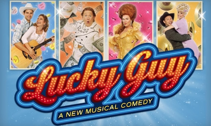 """""""Lucky Guy"""" - Manhattan: One Ticket to """"Lucky Guy"""" Musical Comedy at the Little Shubert Theatre. Two Options Available."""