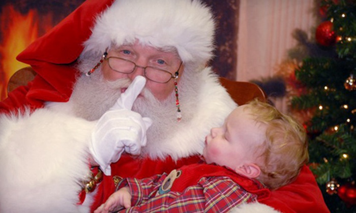 WorldWide Photography - Mount Pleasant: $11 for Photos with Santa Claus and a Dasher Print Package from Worldwide Photography ($22.99 Value)