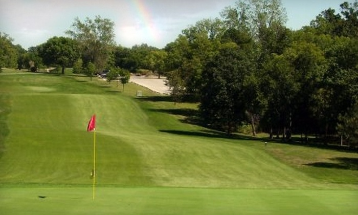 Sunflower Hills Golf Course - Bonner - Loring: $24 for 18 Holes of Golf, a Cart Rental, and a Bucket of Range Balls at Sunflower Hills Golf Course (Up to $49 Value)