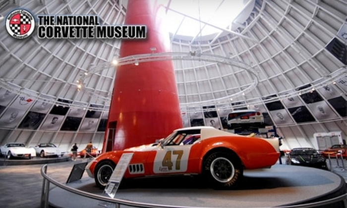 National Corvette Museum >> 5 For One Admission To The National Corvette Museum In Bowling