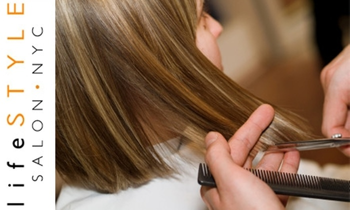 Lifestyle Salon NYC - Greenwich Village: $45 Toward a Haircut and Blowdry at LifeStyle Salon NYC