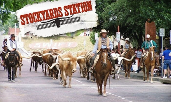 Stockyards Station - Fort Worth: $7 for Self-Guided GPS Walking Tour of the Historical Fort Worth Stockyards ($15 Value)