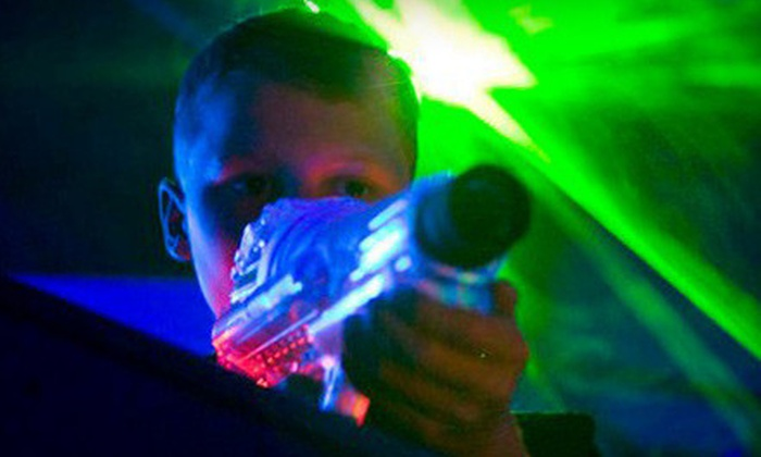 Extreme Laser Tag - Colonial Heights: $10 for Three Games of Laser Tag at Extreme Laser Tag in Colonial Heights ($19.99 Value)