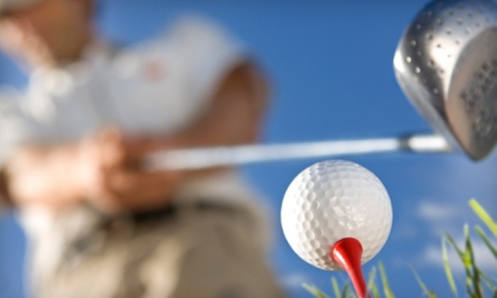 Golf Dome at the RMU Island Sports Center - Pittsburgh: $14 for Three Buckets of Balls (Up to $28.50 Value) or $79 for Four Group Lessons ($139 Value) at the Golf Dome at the RMU Island Sports Center