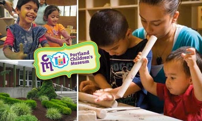 Portland Children's Museum - Sylvan - Highlands: $8 Admission for Two at Portland Children's Museum