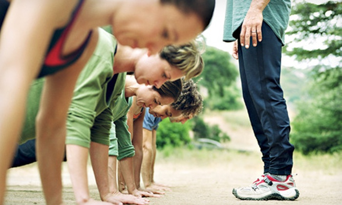 Heart Pumpers Health and Fitness - Central City: Five Boot-Camp Classes or One Month of Unlimited Classes at Heart Pumpers Health and Fitness (Up to 59% Off)