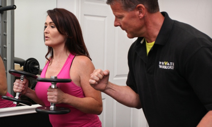 Private Workout - Multiple Locations: Six-Week Gut Buster Boot Camp  or One Personal-Training Session at Private Workout (Up to 88% Off)